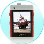 Travelers MP4 Grotuvas 2Gb su 2'' ekranu ir įmontuotu USB laidu