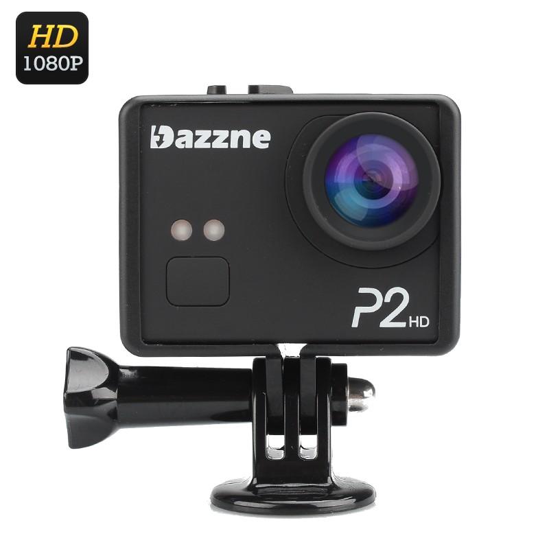 """Veiksmo Kamera """"Dazzne P2"""" - 1080P, 12MP, 130° filmavimo kampas, 2"""" ekranas"""