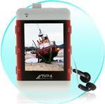 Travelers MP4 Grotuvas 4Gb su 2'' ekranu ir įmontuotu USB laidu