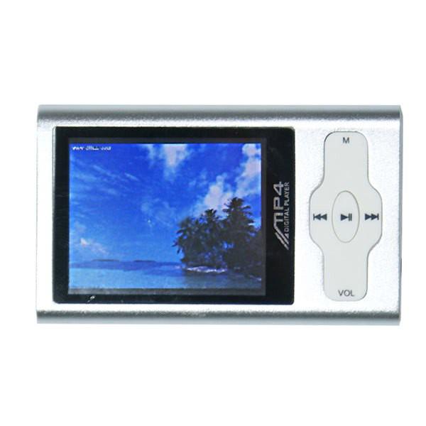 2 colių LCD 1Gb MP4 grotuvas Silver