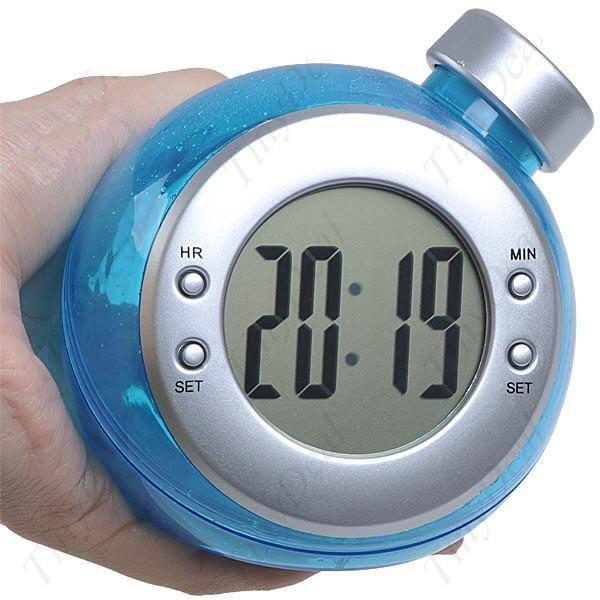 Ekologiškas Elektroninis Laikrodis Varomas Vandeniu