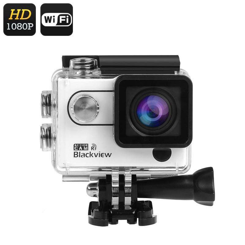 """Veiksmo Kamera """"Blackview Wi-Fi 2K"""" - 30FPS, 1080p 60FPS, 170° filmavimo kampas, 16MP, 2"""" LCD ekranas"""