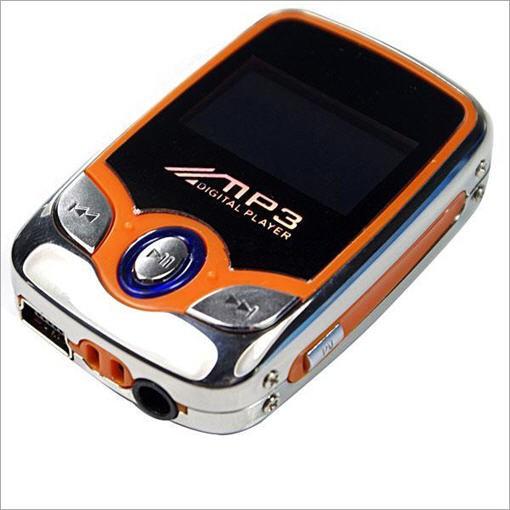 Mini 1Gb MP3 grotuvas Sporty Orange