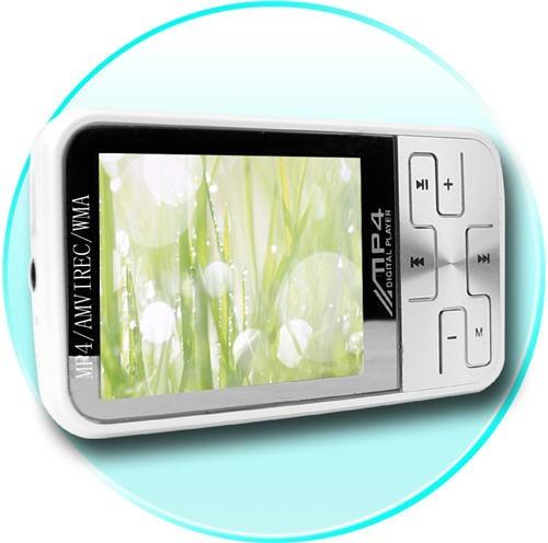 Mini MP4 4Gb grotuvas su 2 colių TFT LCD ekranu MovieP