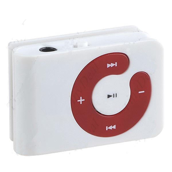 MP3 Grotuvas Clip C-Shaped iki 8Gb Micro SD
