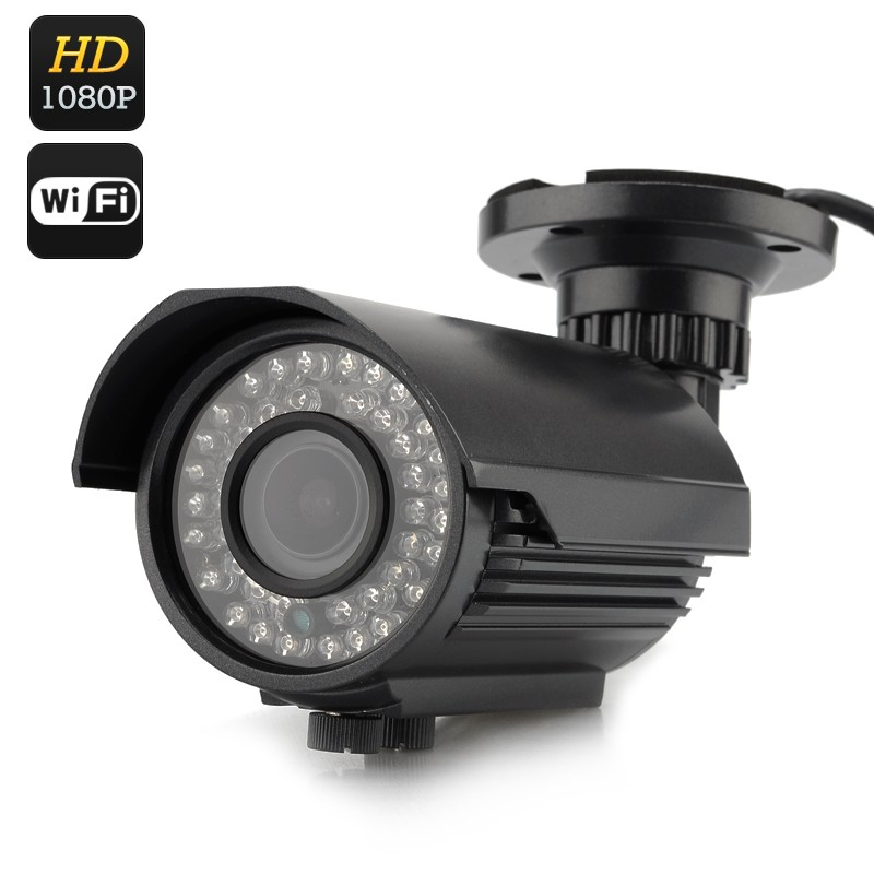 IP Lauko Kamera Su Naktinio Matymo Funkcija (1080p)