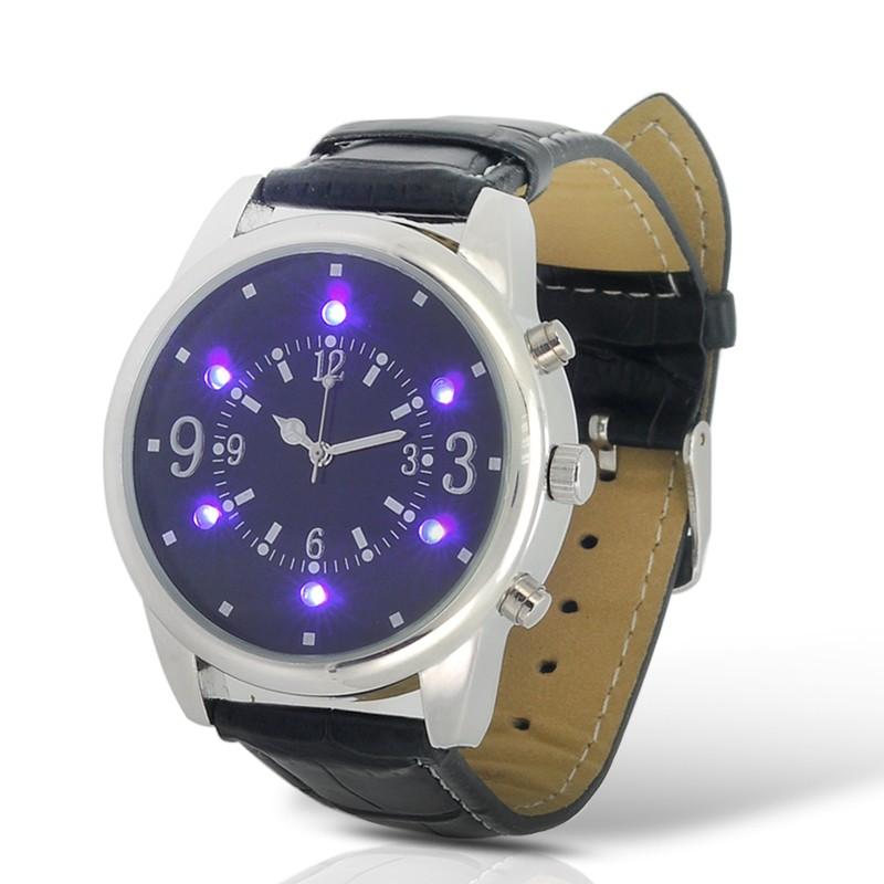 LED Laikrodis Su Pinigų Tikrinimo Funkcija