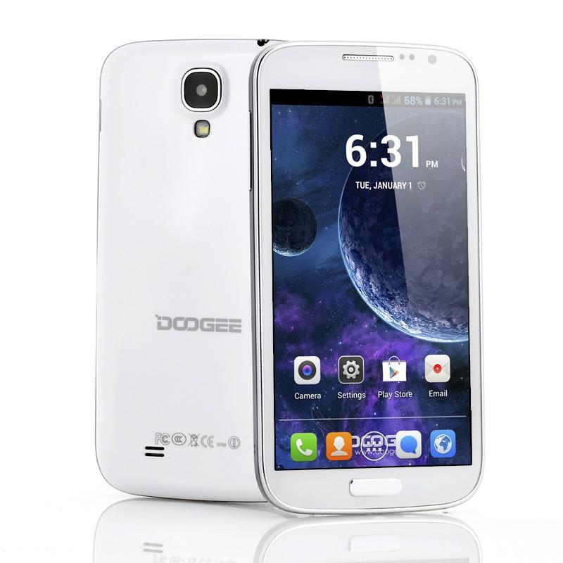 """4.2 Android Telefonas DOOGEE Voyager DG300 (5"""" Ekranas, 1.3GHz DUAL CPU, Android 4.2, GPS, 2 SIM kortelės)"""