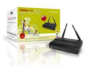 Conceptronic 300Mbps 11n Wireless maršrutizatorius ir Prieigos taškas (C300BRS4A)
