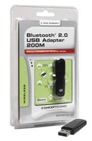 Conceptronic Bluetooth Adapteris 2.0 USB 200M (CBT200U2A)