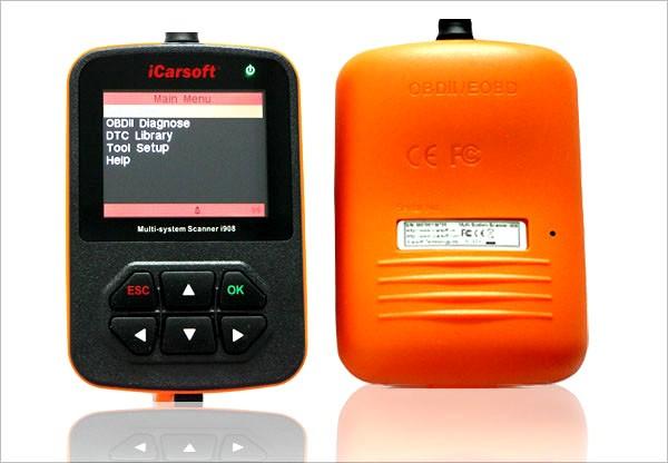 Autodiagnostikos Skeneris iCarsoft i908 (Audi/VW/Seat/Skoda)