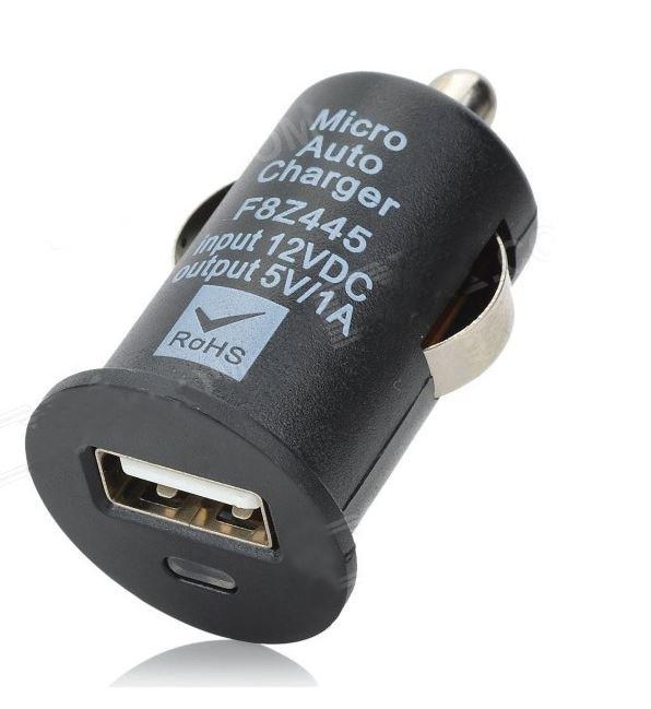 Universalus Automobilinis USB Įkroviklis Telefonams ir Kitiems Prietaisams (5V 1A )