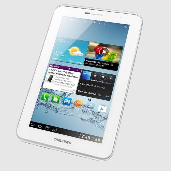 Planšetinis kompiuteris SAMSUNG GALAXY GT-P3110ZWASEB 8GB Baltas