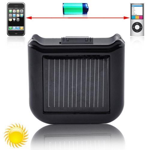 Saulės Baterija - Kroviklis iPhone, iPod, LG, Nokia ir kt. telefonams