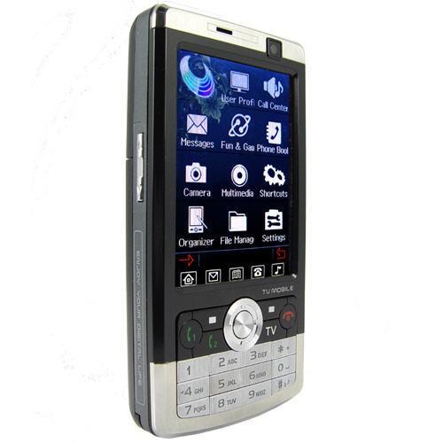 Mobilusis Telefonas su TV QuadBand Dual SIM 3.0 Touchscreen