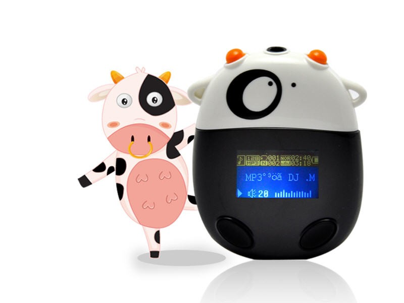 MP3 Grotuvas BIG MOO COW 2Gb