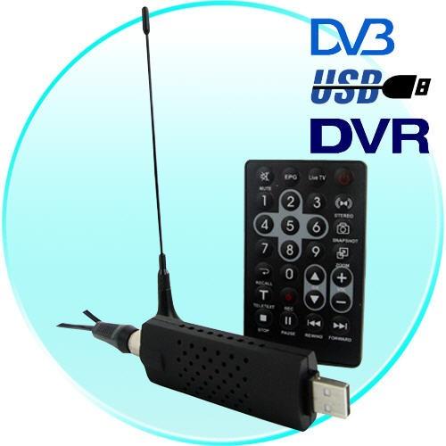 » Skaitmeninės TV USB Priedėlis DVB-T Black Edition (H.264)