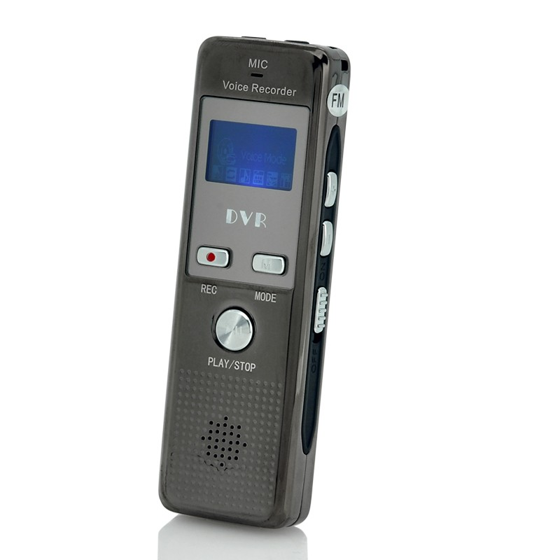 Diktofonas 4Gb (VOX, FM radija, Telefonų Įrašymas)