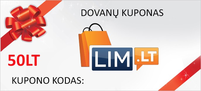 20€ Vertės Dovanų kuponas
