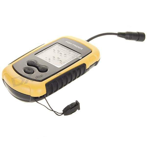 Sonaras žvejybai Fish Finder Alarm su LCD ekranu