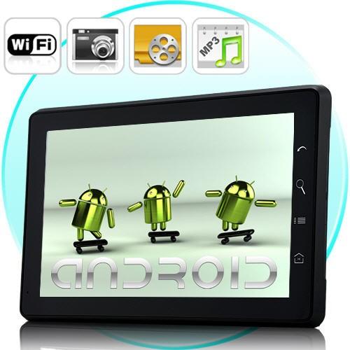 Planšetinis Kompiuteris Eximus (Android 2.1+WiFi+Kamera+HDMI)