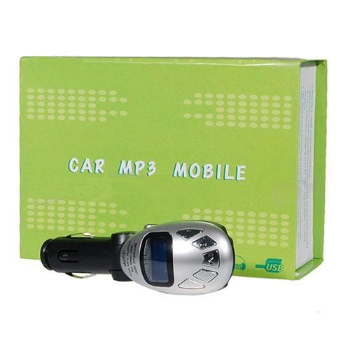 Automobilinis FM Moduliatorius su 1Gb Atmintimi