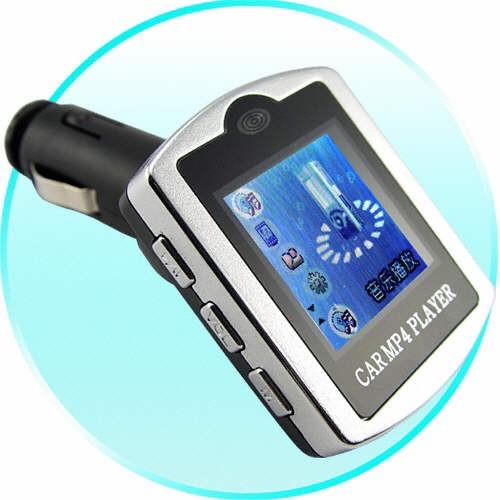 FM Moduliatorius su LCD Ekranu ir 4Gb Atmintimi