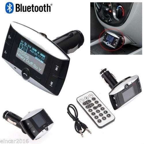 FM Moduliatorius Su Bluetooth Laisvų Rankų Įranga (USB, SD nuskaitymas)