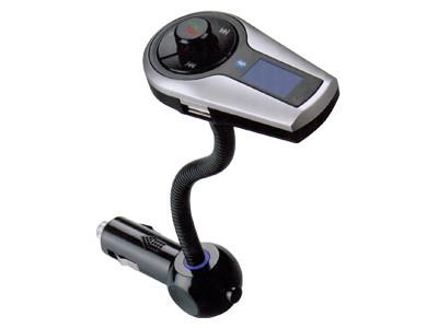 Bluetooth FM Moduliatorius Su Laisvų Rankų Įranga