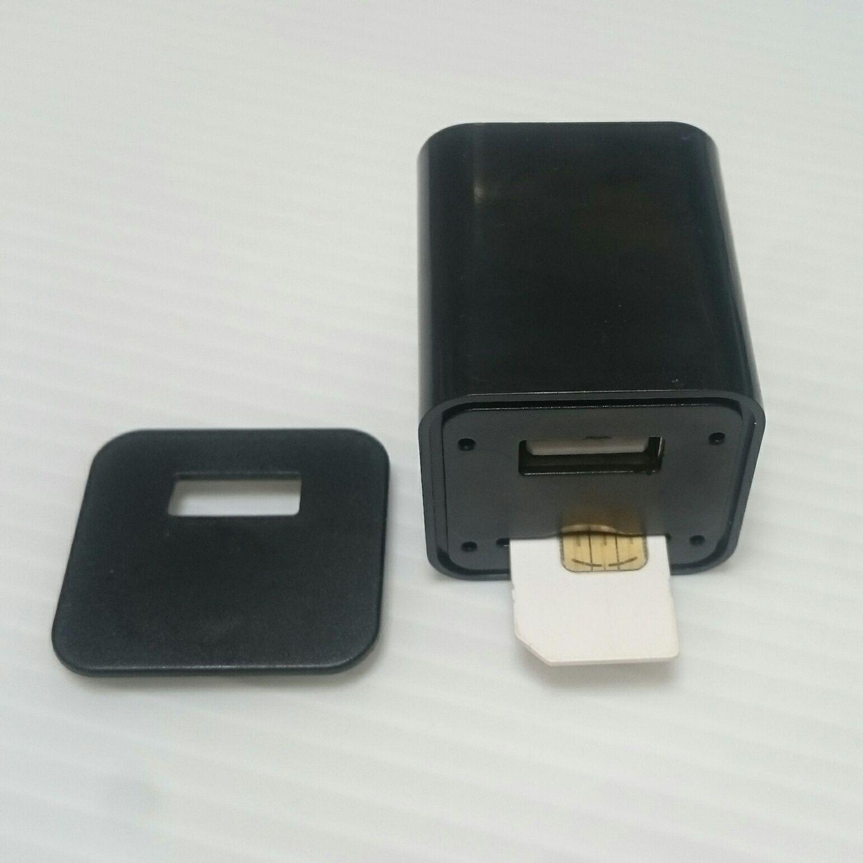 Slapta Pasiklausymo GSM Blakė - Įkroviklis (Su Atskambinimo Funkcija)