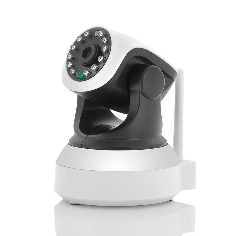 """Vidaus WiFi IP Apsaugos Kamera """"SCAR"""" - (Motion Detection,  720p raiška, Įrašymas į SD kortelę, Night Vision)"""