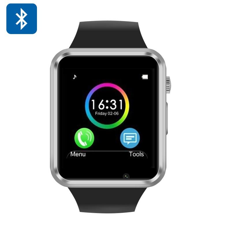 Išmanusis laikrodis - telefonas (GSM, SMS, Pulso matuoklis, Žingsniamatis + Kalorijų skaičiuoklis)