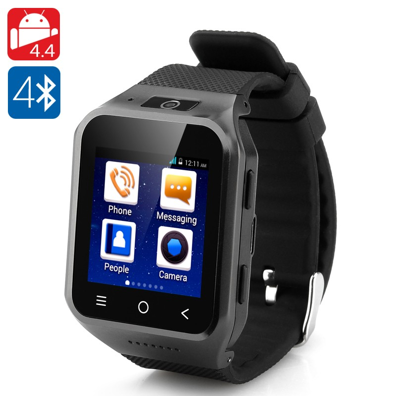 """Išmanusis laikrodis - telefonas """"ZGPAX S8"""" (Dual Core CPU, 512Mb RAM, 4Gb, 1,54"""" Colio Ekranas, 2Mp Kamera, Android 4.4)"""