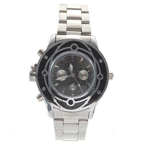 Džeimso Bondo Stiliaus Kvarcinis Laikrodis su Slapta Kamera 2Gb