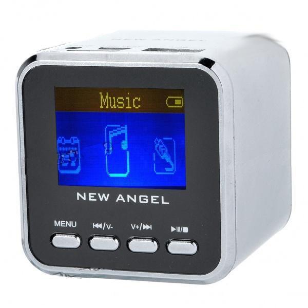 MP3 Grotuvas New Angel + Laikrodis + Žadintuvas + Radija