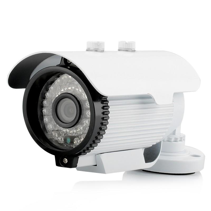 2Mp 1080p Lauko IP Kamera su 25m Naktiniu Matymu (-20°C+55°C, 36IR LEDs, H.264, IR-Cut, Motion Detection)