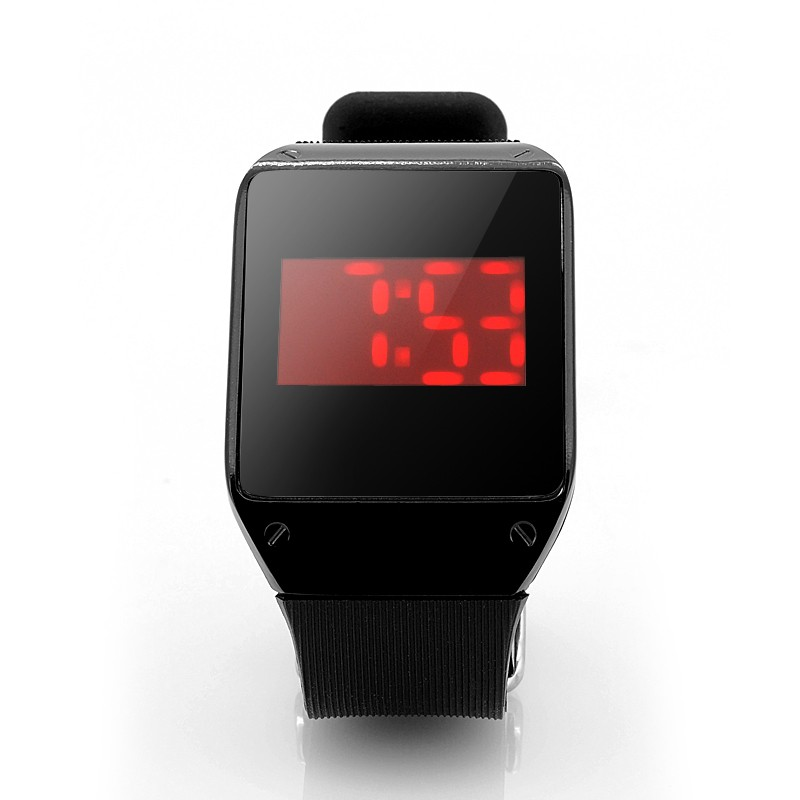 LED Laikrodis Su Touch Screen