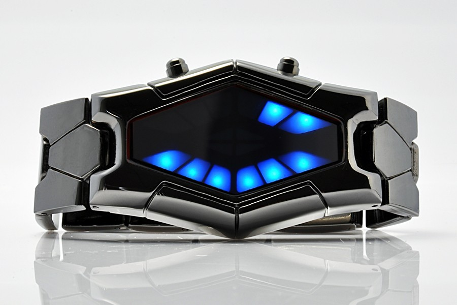 Japoniško Stiliaus LED Laikrodis SAURON