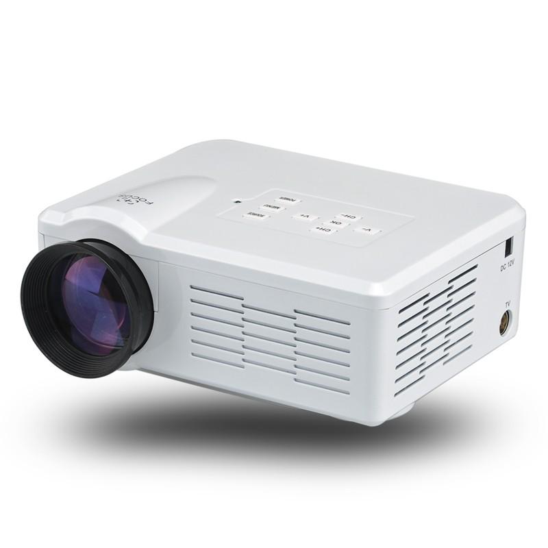 "1080p Mini LED projektorius ( 1080p, 3.5 Inch LCD, 80 Lumen, 30-100"" , 500:1 Contrast, HDMI, USB, AV, TV, VGA )"