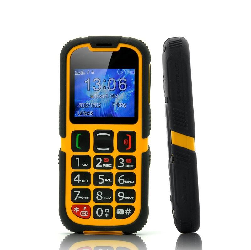 Mobilusis Telefonas Senjorams Su Nusilpusiu Regėjimu (SOS Mygtukas, Bluetooth)