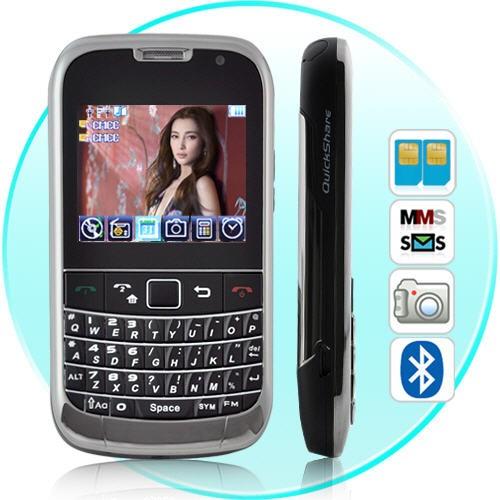 Aspire QUAD Band Dual-SIM Mobilusis Telefonas su QWERTY klaviatūra