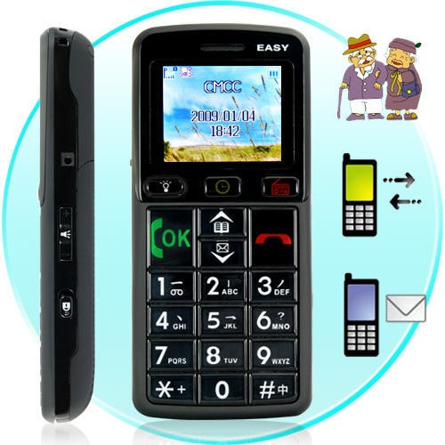 Mobilusis Telefonas Senjorams Senior Citizen
