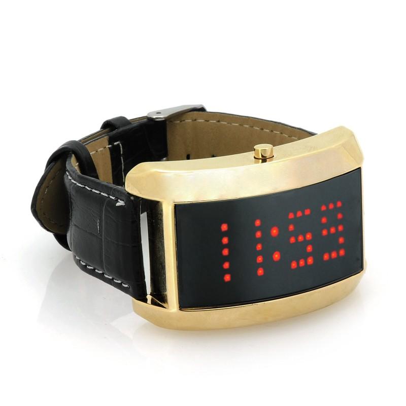 """Moteriškas LED Laikrodis """"SWAG"""" (Bėganti eilutė)"""
