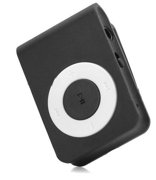"""MP3 Grotuvas """"Mini Sporty Black"""" (Micro SD iki 16Gb)"""