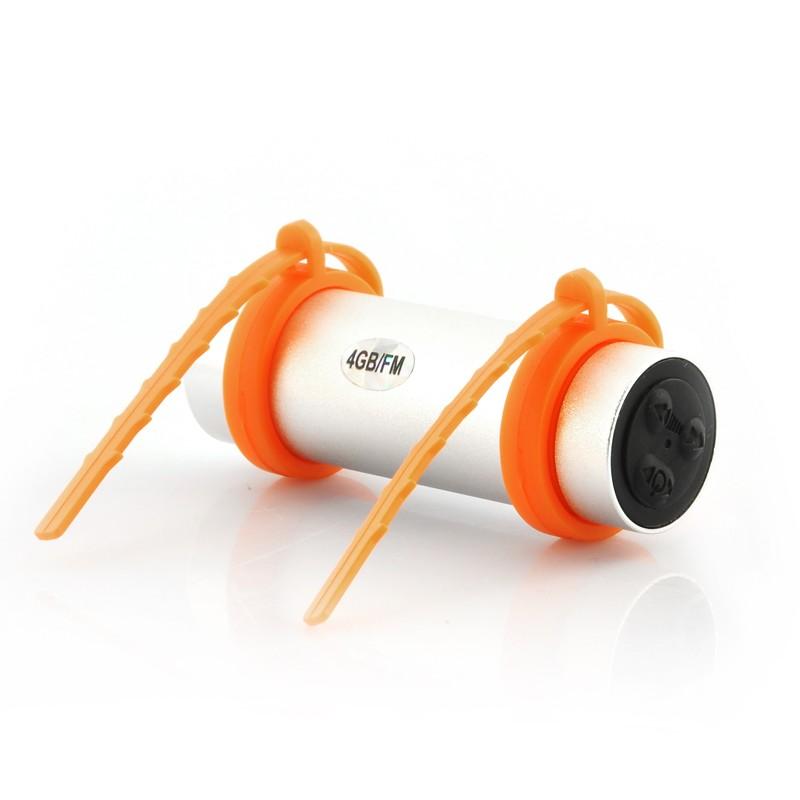 Vandeniui Atsparus MP3 Grotuvas (4Gb, Waterproof 10M, IPX7)