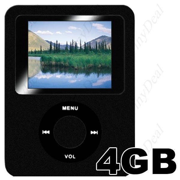 "4Gb BlackQube MP4 Grotuvas (FM radijas, eBook 1.8"")"