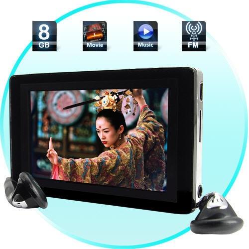 8GB MP3/MP4 grotuvas su FM Moduliatoriumi (Car Edition)