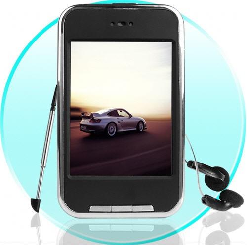 "Touch Screen MP3/MP4 Grotuvas - 2.8"" TFT - Fidelity 8Gb"