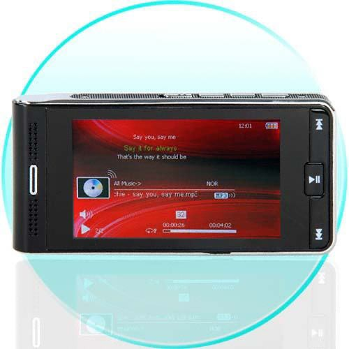 "HotRed 8GB Widescreen MP3/MP4 Grotuvas su 3"" LCD Ekranu"