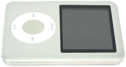 8Gb MP4 grotuvas Silver 1.8 Inch LCD TFT
